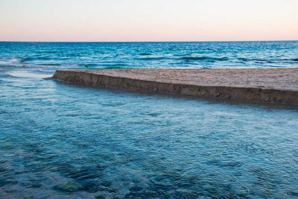 Fiume Chidro: fiume d'acqua dolce a San Pietro ( Manduria, Taranto)